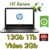 Notebook HP 15-ba010nl AMD A10-9600P 2.4GHz 12Gb 1Tb 15.6' HD AMD Radeon R7 M440 2GB Windows 10 HOME
