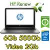 Notebook HP 15-ay104nl Core i5-7200U 6Gb 500GB 15.6' AMD Radeon R5 M430 2Gb Windows 10 Home