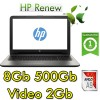 Notebook HP 15-bw009nl AMD A9-9420P 3.0GHz 8Gb 500Gb 15.6' HD AMD Radeon 520 2GB Windows 10 HOME