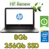 Notebook HP 15-bs033nl Core i3-6006U 2.0GHz 8Gb 256Gb SSD 15.6' HD BV Windows 10 HOME