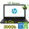 Notebook HP 15-bs040nl Core i3-6006U 2.0GHz 4Gb 500Gb 15.6' HD BV Windows 10 HOME