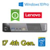 Mini PC Lenovo Thinkcentre M93p USFF Core i7-4765T 8Gb Ram 500Gb USB 3.0 Windows 10 Professional