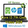 Notebook HP 15-bs005nl Core i5-7200U 8Gb 500Gb 15.6' HD DVDRW  Windows AMD Radeon 520 2GB 10 HOME