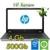Notebook HP 15-bs035nl Intel Celeron N3060 4Gb 500Gb 15.6' HD SVA Windows 10 HOME
