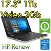 Notebook HP 17-bs003nl Intel i5-7200U 8Gb 1TB 17.3' AMD Radeon 520 Windows 10 Home