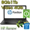 Notebook HP Pavilion Power 15-cb017nl Core i7-7700HQ 8Gb 1Tb 15.6' Windows 10