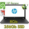 Notebook HP 15-bw061nl AMD Dual-Core A9-9420 8GB 256 Gb SSD 15.6 HD SVA Windows 10 HOME