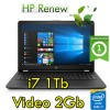 Notebook HP 15-bs529nl i7-7500U 8Gb 1Tb 15.6' Windows 10 Home