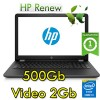 Notebook HP 15-bs004nl Core i3-6006U 4Gb 500Gb 15.6' HD AMD Radeon 520 2GB Windows 10 HOME