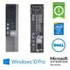 PC Dell Optiplex 9020 USFF Core i5-4590S 3.0GHz 8Gb Ram 500Gb DVD-RW Windows 10 Professional
