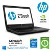 Mobile Workstation HP ZBOOK 17 Core i5-4340 8Gb 500Gb+128Gb SSD 17.4'  nVIDIA Quadro K1100M 2Gb Win 10 Pro