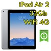 iPad Air 2 32Gb Grigio Siderale WiFi Cellular 4G 9.7' Retina Bluetooth Webcam MNVP2TY/A