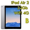 iPad Air 2 32Gb Grigio Siderale WiFi Cellular 4G 9.7' Retina Bluetooth Webcam MNVP2TY/A [Grade B]