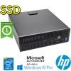 PC HP ProDesk 600 G1 Core i5-4570 3.2GHz 8Gb 240Gb SSD NO-ODD Windows 10 Professional SFF