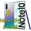 Smartphone Samsung Galaxy Note 10+ SM-N975F 6.8' FHD 12Gb RAM 512Gb 16MP Silver [Grade B]