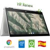 Notebook HP Chromebook x360 14b-ca0000ns CEL N4000 1.1GHz 2Gb 64Gb 14' FHD LED TS Chrome OS [LINGUA SPAGNOLA]