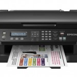 STAMPANTE EPSON INK MFC WORKFORCE WF-2510WF C11CC58302 A4 4in1 9PPM ISO USB WIFI Fino:31/08