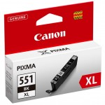 CARTUCCIA CANON CLI-551XL BK NERO ALTA CAPACITA   iP7250 MG5450/6350 15ml 6443B001/6443B004