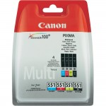 MULTIPACK CANON CLI-551 B/C/M/Y 6509B008