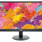 MONITOR AOC LCD LED 19.5' WIDE E2070SWN 5ms 0.27 1600x900 600:1 BLACK VGA Vesa Fino:04/10