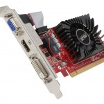 SVGA ASUS R7240-2GD3-L Amd R7 240 2GD3 PCIe3.0 DVI-D HDMI HDCP attiva LOW PROFILE 90YV04T0-M0NA00