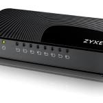 SWITCH 8P LAN Gigabit ZYXEL  GS-108SV2-EU0101F  FORMATO MINI - PLASTICA -Garanzia 3 anni-