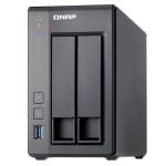NAS QNAP TS-251+-2G X 2HD 3,5/2,5 SATA6/3>NO HD<2P GbE-2P USB2.0-2P USB3.0-2Gb DDR3L-QuadCore 2.0GHz-GAR.2 ANN