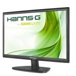 MONITOR HANNSG LCD LED 21.5 Wide HL225PPB 5ms MM 0.248 FHD 1920x1080 1000:1 BLACK VGA DP Vesa Fino:26/05