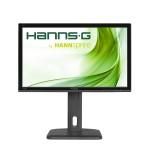 MONITOR HANNSG LCD LED 23.8 Wide HP245HJB 8ms MM FHD 1920x1080 1000:1 BLACK VGA DVI Vesa