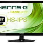 MONITOR HANNSG LCD LED HS IPS 23.8 Wide HS245HPB 8ms MM FHD 1920x1080 1000:1 BLACK VGA DVI HDMI Vesa Fino:26/0