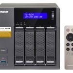 NAS QNAP TS-453A-8G 4HD 3,5/2,5 SATA6G>NO HD<4P Giga-4P USB3.0-8Gb DDR3L-QuadCore Intel Cel Braswell N3150 1.6
