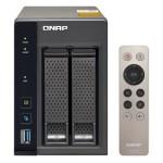 NAS QNAP TS-253A-8G 2HD 3,5/2,5 SATA6G>NO HD<2P Giga-4P USB3.0-8Gb DDR3L-QuadCore Intel Cel Braswell N3150 1.6