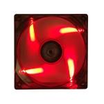 VENTOLA X CASE ITEK Xtreme FLOW Led ROSSO 120x120x25mm 23.4dBa 3+4Pin (ITCFL12R)