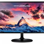 MONITOR SAMSUNG LCD PLS LED 27 Wide SM-S27F350 5ms FHD 1920x1080 BLACK VGA HDMI Vesa Fino:05/06
