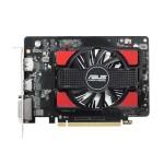 SVGA ASUS R7250-1GD5-V2 Amd R7 250 1GD5 128bit PCIe3.0 DVI-I HDMI DP HDCP attiva OpenGL4.5 90YV0920-M0NA00