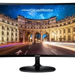 MONITOR SAMSUNG LCD CURVED LED 24 Wide SM-C24F390 4ms FHD 1920x1080 BLACK VGA HDMI Vesa Fino:05/06