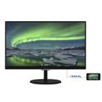 MONITOR PHILIPS LCD IPS LED 21.5 Wide 227E7QDSB/00 5ms 0.248 FHD 1920x1080 1000:1 GLOSSY BLACK VGA DVI HDMI MH