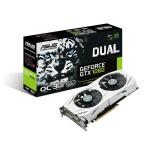 SVGA ASUS DUAL-GTX1060-O3G nVidia GTX1060 3GDDR5 PCIe3.0 DVI-D 2xHDMI HDCP 2xDP OpenGL4.5 192bit 2.1slot 90YV0