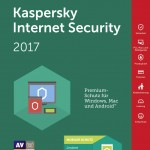 KASPERSKY INTERNET SECURITY 2017 -- 3 Dispositivi Rinnovo (KL1941TBCFR-7SLIM) Fino:01/06