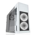 CABINET ATX MIDDLE TOWER GAMING iTEK Mod TITAN05 Advanced NoAlim 7slot PCI 2xUSB3 2xUSB2 Colore BIANCO 2xFanRG