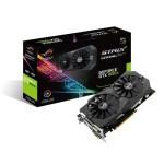 SVGA ASUS STRIX-GTX1050TI-O4G-GAMING nVidia GTX1050 4GDDR5 128bit PCIe3.0 DVI-D HDMI DP HDCP OpenGL4.5 2 slot