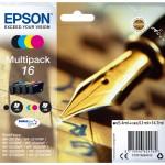 MULTIPACK EPSON 16 'Penna e Cruciverba' C13T16264010/12 4ink x WF-2510FW/WF-2520NF/WF-2530WF/WF-2540WF/WF-2010