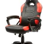 SEDIA GAMING ITEK Chair TAURUS P1 - Nero Rosso - Pelle sintetica PU (ITTGCHP1BR)