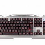 Tastiera Gaming iTek TAURUS T17 Membrana retroill. 3 colori, multimediale, anti-ghosting, cover e struttura in