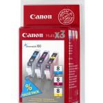MULTIPACK CANON CLI-8 C/M/Y PIXMAiP4200/5200/5200R/iX5000/MP500 0621B029