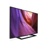 TV LED PHILIPS 32 Wide 32PHT4100/12 DVB-T2 1366x768 BLACK CI SLOT 2xHDMI USB Vesa