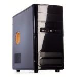 CABINET MicroATX MIDI TOWER iTEK Modello PIRATE - Alim 500W Fan 12Cm - 2xUSB 2.0 Frontali - Nero (IT113B) Fino