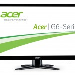 MONITOR ACER LCD LED 23 WIDE G236HLBDB UM.VG6EE.B01 5ms FULL HD 1920x1080 1000:1 BLACK VGA DVI-HDMI