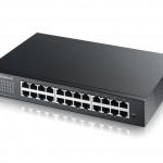 SWITCH 24P LAN GIGABIT ZYXEL ZYXGS-1900-24E/GS1900-24E-EU0101F Switch WEB managed 24P Giga senza ventole- IPv6