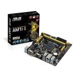 MB ASUS AM1I-A SKT AM1 2DDR3-1600 RADEON VGA DVI-D HDMI RGB 1PCIe2.0x4 2xSATA3 2xUSB3.0 GLAN miniITX 90MB0IA0-